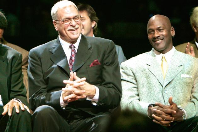 Michael Jordan Endorses New York Knicks Hiring Phil Jackson