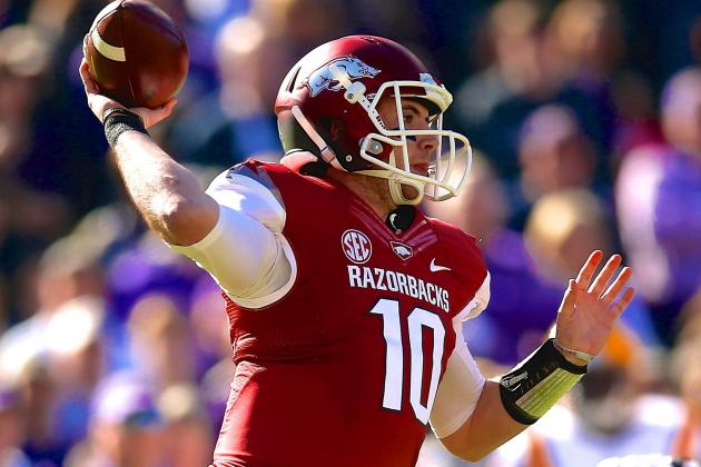 Arkansas Football: Bret Bielema's Top Spring Priority Is to Find a QB