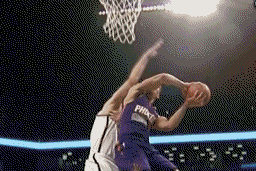 Green Throws Down a Double-Pump Slam in the Face of Mason Plumlee