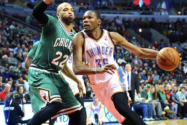Oklahoma City Thunder vs. Chicago Bulls: Live Score and Analysis