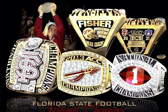 Florida state football team receives bcs national championship florida state football team receives bcs national championship rings bleacher report voltagebd Choice Image