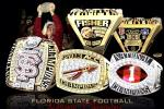FSU Unveils 2013 Championship Rings