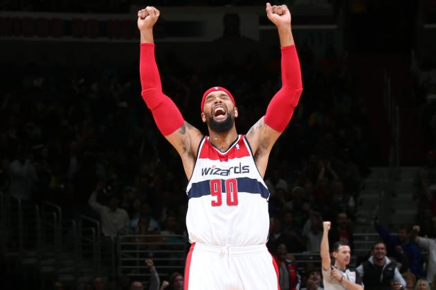 Can Drew Gooden Get Career Back on Track While Pushing Wizards to NBA Playoffs?