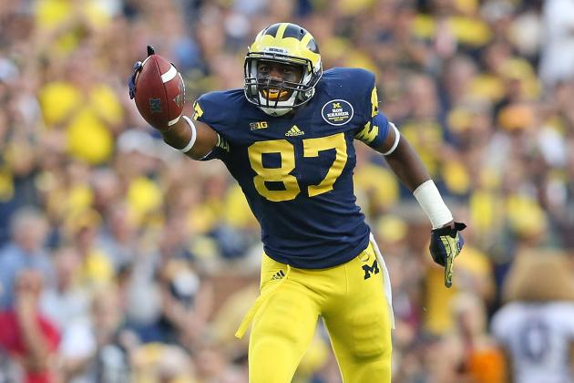 Michigan Football: Why Wolverines WR Devin Funchess Will Take Spotlight in 2014