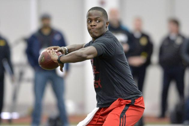 Teddy Bridgewater's Pro Day Won't Keep Him from Being Top-5 Pick in NFL Draft