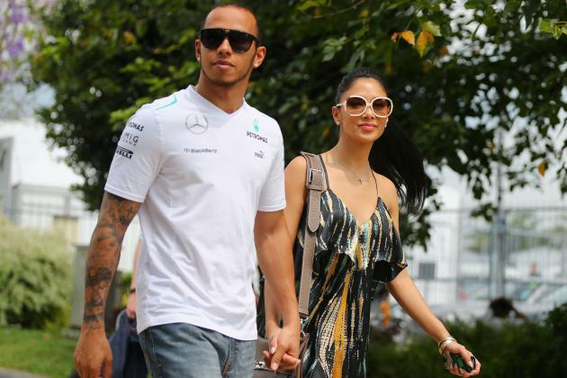 Lewis Hamilton Tweets Reaction to Nicole Scherzinger Engagement Reports