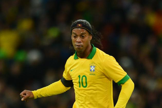 Ronaldinho: Where Did It All Go Wrong with Brazil's World Cup Year?