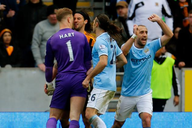 George Boyd Charged by FA for Spitting at Joe Hart During Hull vs. Man City