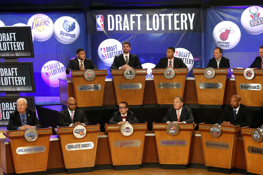 NBA Tanking: Draft Lottery Success Doesn't Mean Future Titles