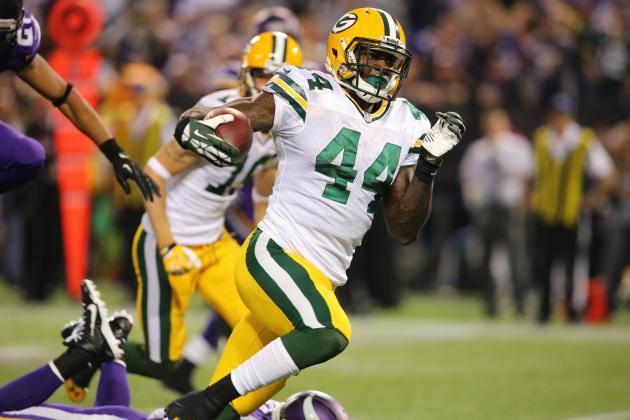 Why Re-Signing RB James Starks Matters for the Green Bay Packers