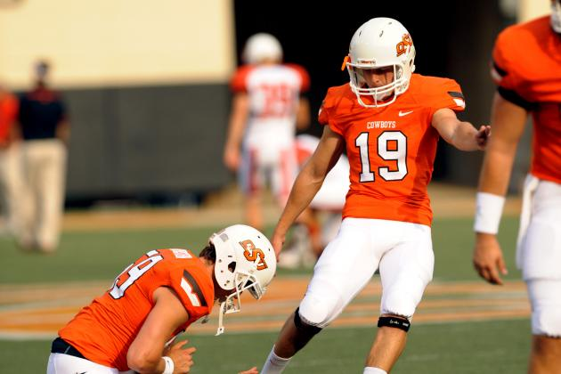 OSU Brings in Competition for Kicker Ben Grogan