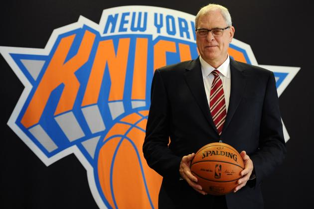 Twitter Reacts to Phil Jackson's 1st Press Conference with New York Knicks