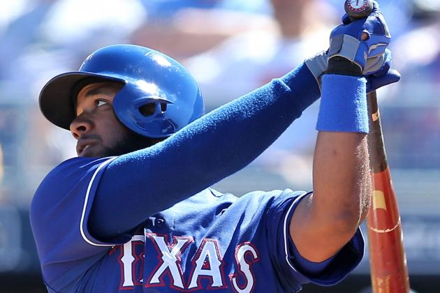 Andrus Scratched from Lineup with Forearm Soreness