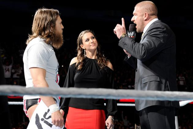 Daniel Bryan Must Win at WrestleMania After Beating from Triple H on WWE Raw
