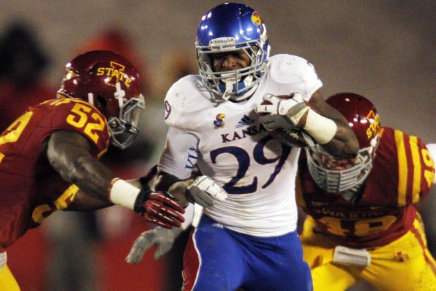 Ex-Kansas RB Sims Gets Up to Speed