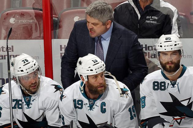 Sharks Notebook: McLellan Says Team Still Has Work to Do