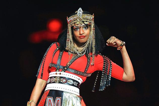 NFL Still Sore over M.I.A.'s Super Bowl Middle Finger, Now Seeking over $16M