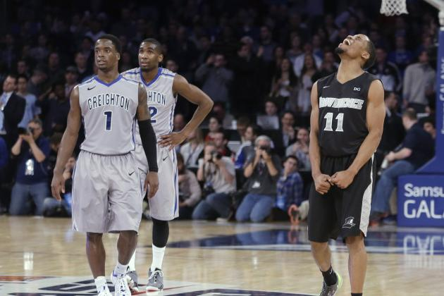 March Madness 2014: 1st-Round Games That Could Be Bracket Busters