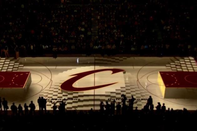 Cleveland Cavaliers Use Technology to Put on Amazing Show on Court