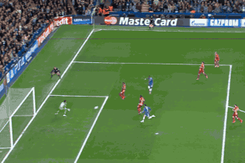 GIF: Samuel Eto'o Scores Early for Chelsea vs. Galatasaray in Champions League