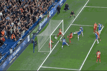 GIF: Gary Cahill Scores for Chelsea vs. Galatasaray in Champions League