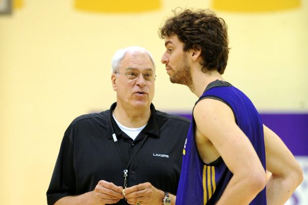 Pau Gasol Sounds off on Phil Jackson, Kobe Bryant