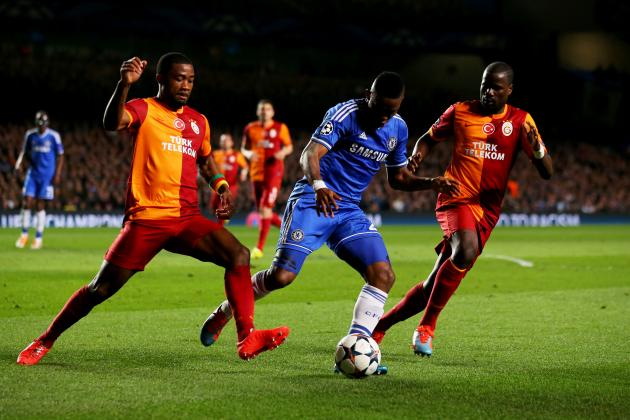 Chelsea 2-0 Galatasaray: Selcuk and Eboue Failings Make It Easy for the Blues