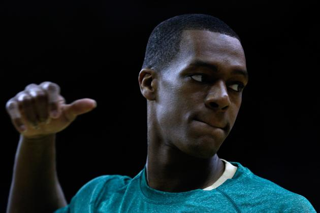 Rajon Rondo Explains Why Some Boston Celtics 'Playing for Contracts'