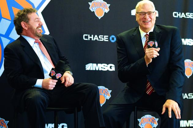 New Phil Jackson Era Already a Stunner for Jaded, Weary Knicks Fans