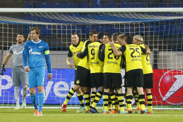 Tactical Battles That Will Shape Borussia Dortmund's Clash with Zenit