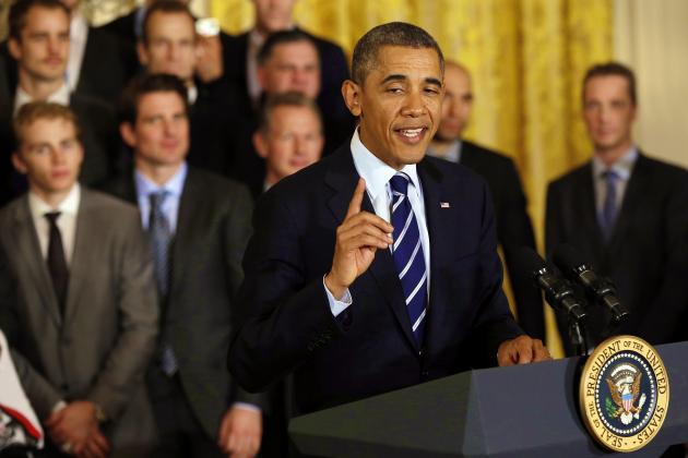 President Barack Obama Reveals His Final Four Picks for 2014 NCAA Tournament