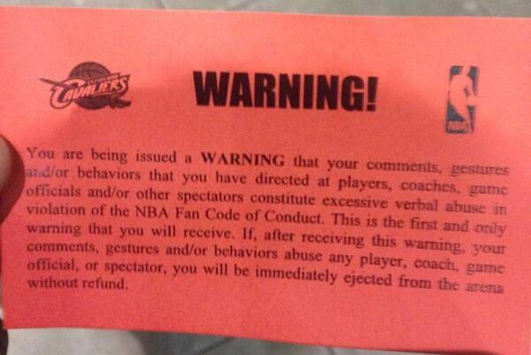 Cavaliers Fan Gets Ejected After Tweeting That He Would Run onto Court