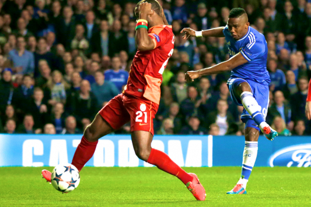 Samuel Eto'o Steals Didier Drogba's Thunder as Chelsea Cruise Through in UCL