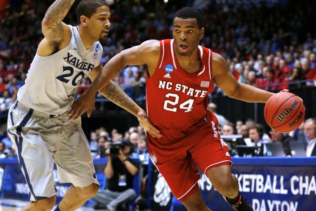 NC State vs Xavier: Live Score, Reaction for NCAA Play in Game 2014