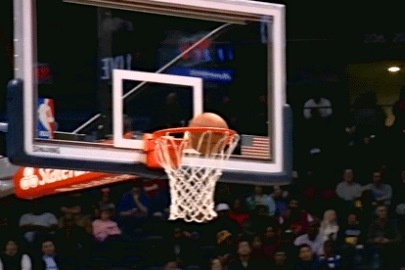 Terrence Ross 3 Rims Out, Defies Gravity