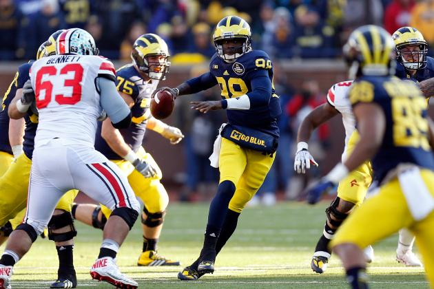 Michigan Football: Fierce Quarterback Battle Shaping Up in Ann Arbor