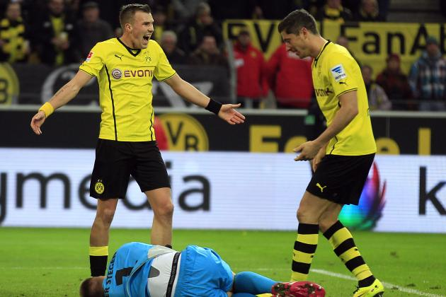 Champions League 2014: Guide to Man United vs. Olympiakos, Dortmund vs. Zenit