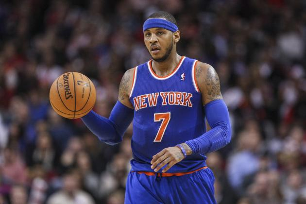 Rockets and Bulls Reportedly Biggest Threats to Sign Carmelo Anthony