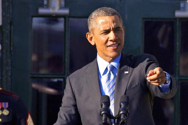 President Barack Obama Reveals His 2014 March Madness Bracket