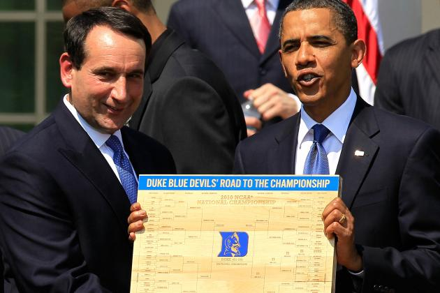 Twitter Reacts to President Obama Picking His Bracket
