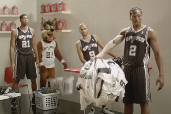 The Spurs' Great H-E-B Commercial Legacy