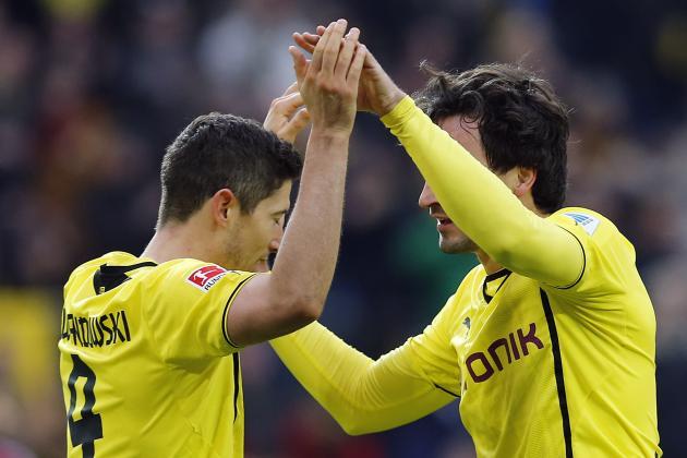 Borussia Dortmund vs. Zenit: Live Player Ratings for Dortmund