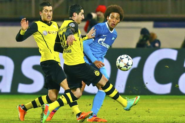 Borussia Dortmund vs. Zenit: Champions League Live Score, Highlights, Report