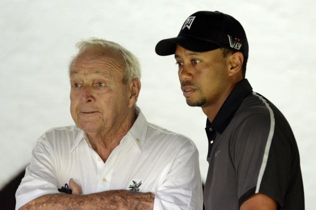 Arnold Palmer and Golf Channel Doctor Have Opinion on Tiger Woods' Back
