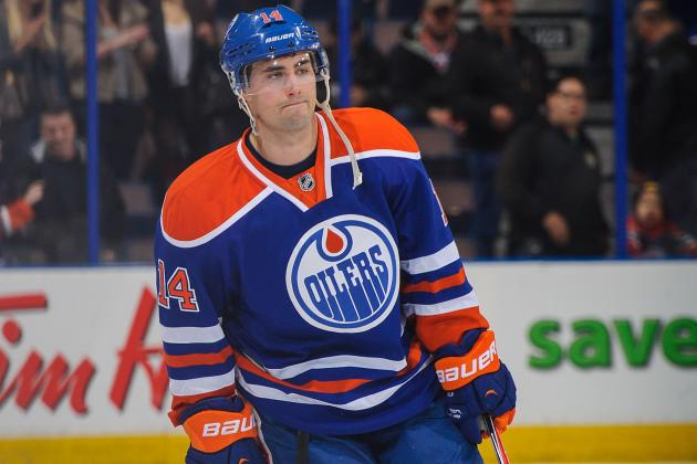 Oilers' Eberle to Undergo MRI for Knee Injury