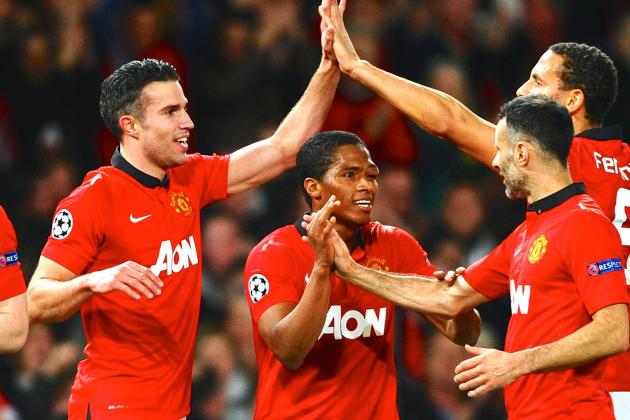 Manchester United vs Olympiakos: Champions League Live Score, Highlights, Report