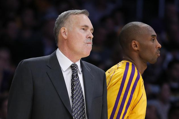 Kobe Bryant Uncertain If Mike D'Antoni Has Earned Another Year as Lakers Coach