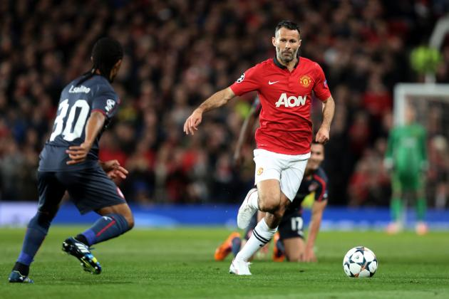 Man Utd 3-0 Olympiakos: Giggs the Catalyst for Much-Improved Red Devils