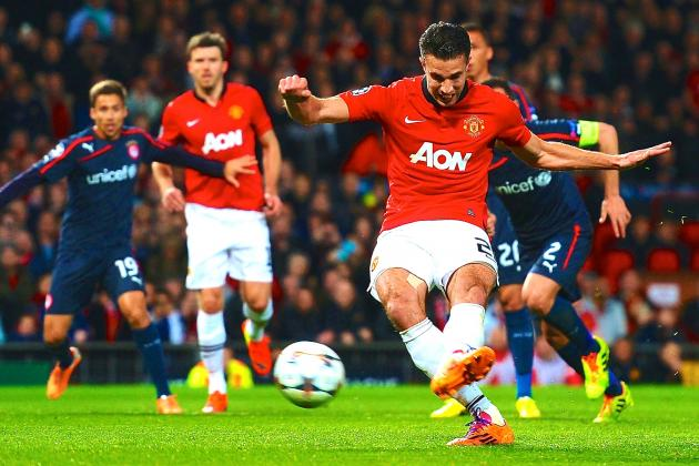 Analysing Robin Van Persie's Performance from Manchester United vs. Olympiakos
