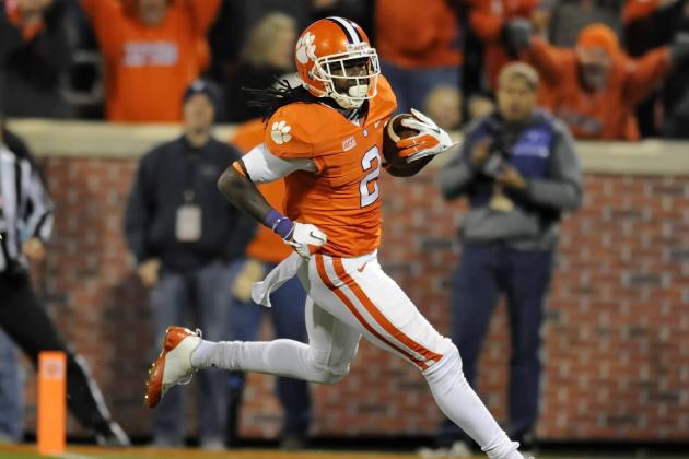 NFL Draft 2014: Predicting Landing Spots for Top Receivers in Class